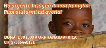 Cinque Per Mille OrphanAid Africa